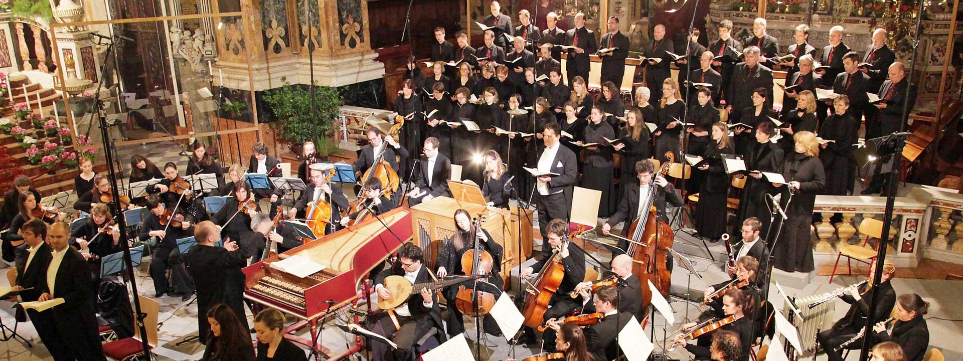 Münchener Bach-Chor und Bach-Orchester in Brixen